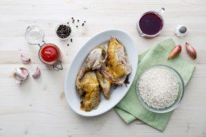 In cucina senza sprechi con Lisa Casali - Riso caramellato del pollaio prima