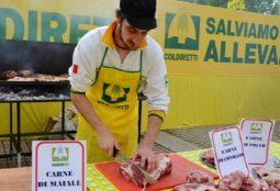 coldiretti in piazza per la carne
